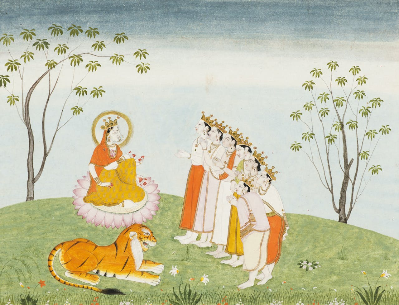 The Gods Appeal to the Great Devi for Help