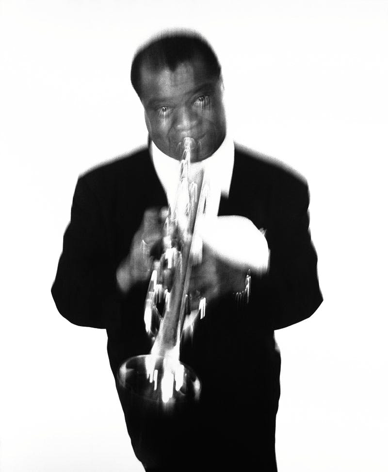 Louis Armstrong (1955), Richard Avedon.