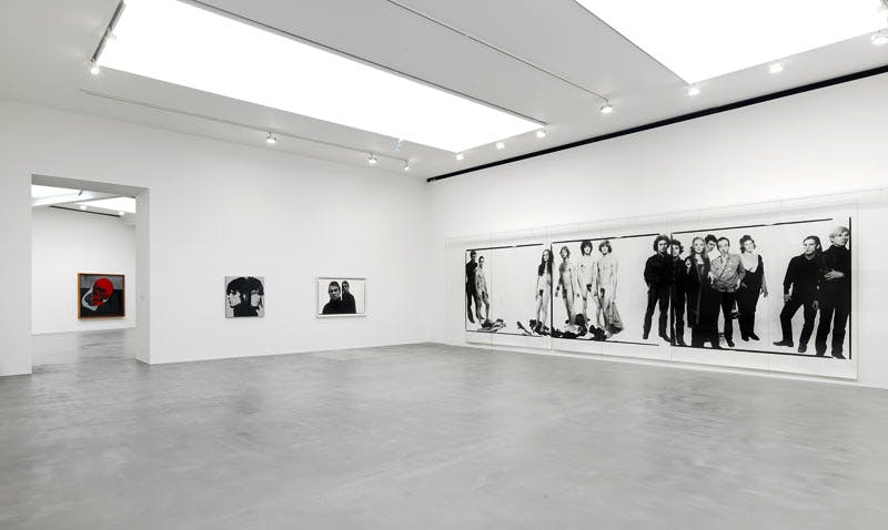 'Avedon Warhol' at Gagosian Gallery, London 2016.