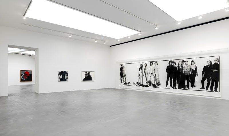 'Avedon Warhol' at Gagosian Gallery, London 2016.