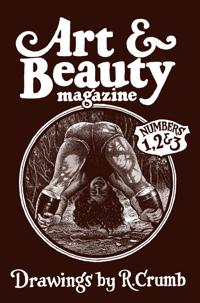Cover of Art & Beauty Magazine: Drawings by R. Crumb