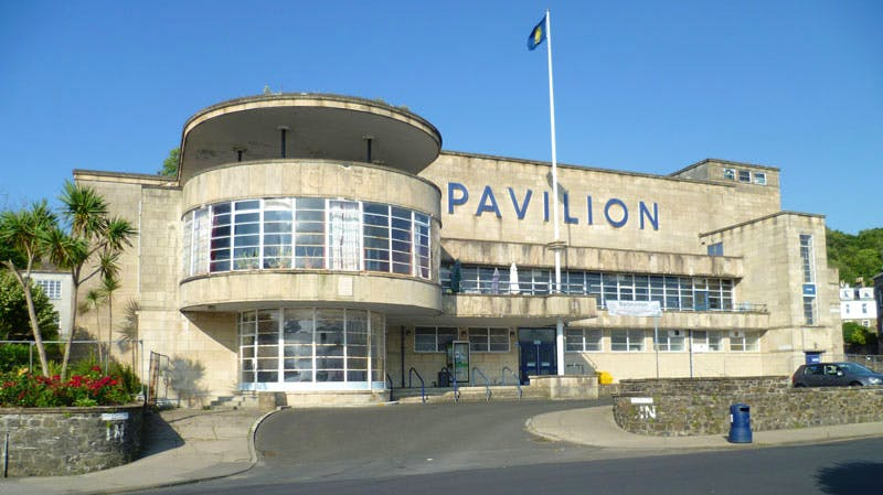 Rothesay Pavilion on the Isle of Bute, designed by James A. Carrick (1880–1940) in 1935 (photo: 2014)