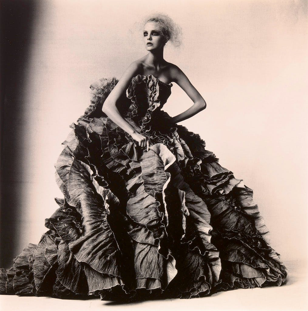 Ball Dress by Olivier Theyskens for Nina Ricci (2007), Irving Penn.