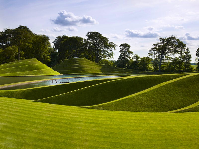 Life Mounds (2005–present), Charles Jencks, at Jupiter Artland