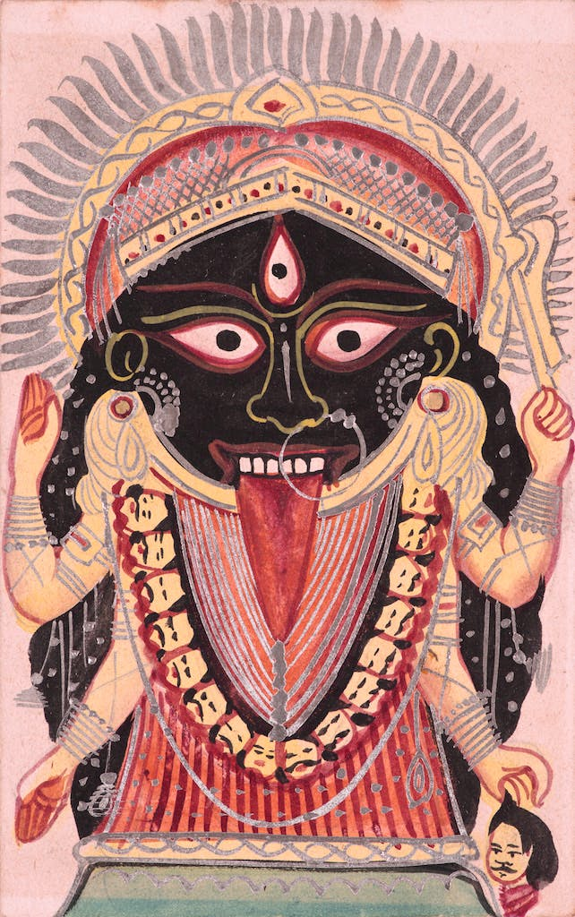 Goddess Kali, Manifestation of Devi (Great Goddess)