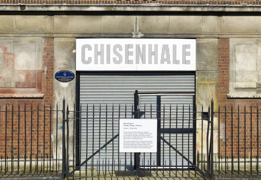 Chisenhale Gallery has closed its doors for the full duration of conceptual artist Maria Eichhorn's solo show...