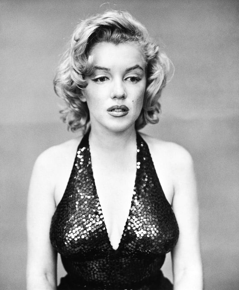 Marilyn Monroe (1957), Richard Avedon.
