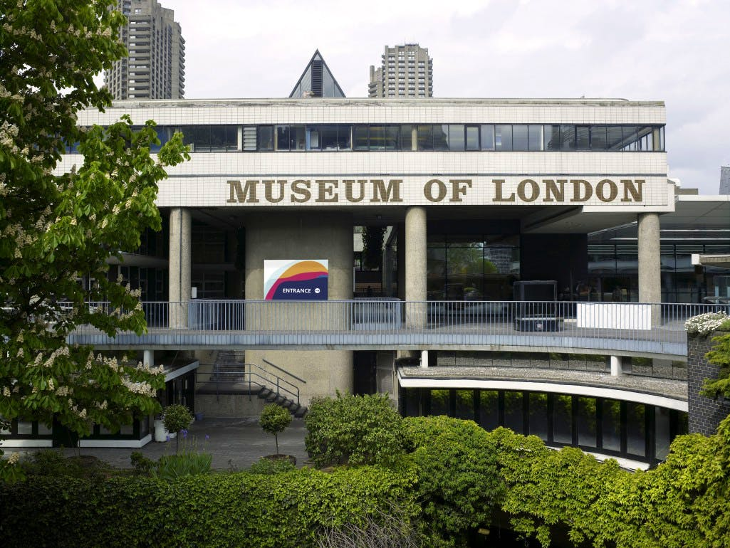 The Museum of London, where a new concert hall is to be developed.