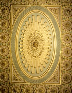 The Palmyrene ceiling at Osterley Park.
