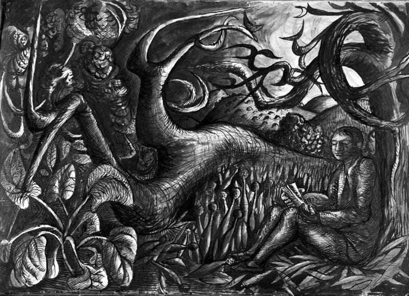 Poet in Landscape