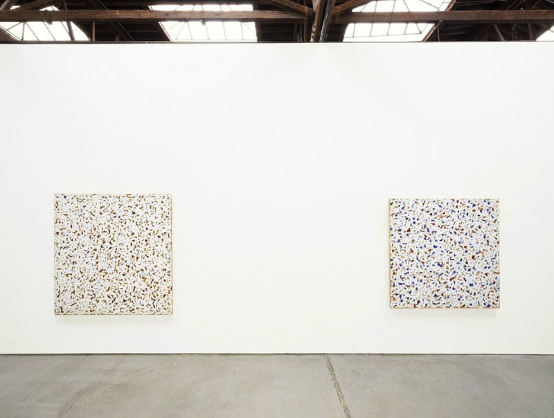 Robert Ryman, installation view, 545 West 22nd Street, New York City