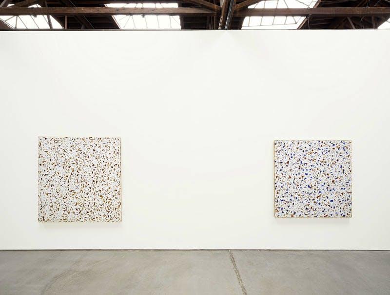 Robert Ryman, installation view, 545 West 22nd Street, New York City