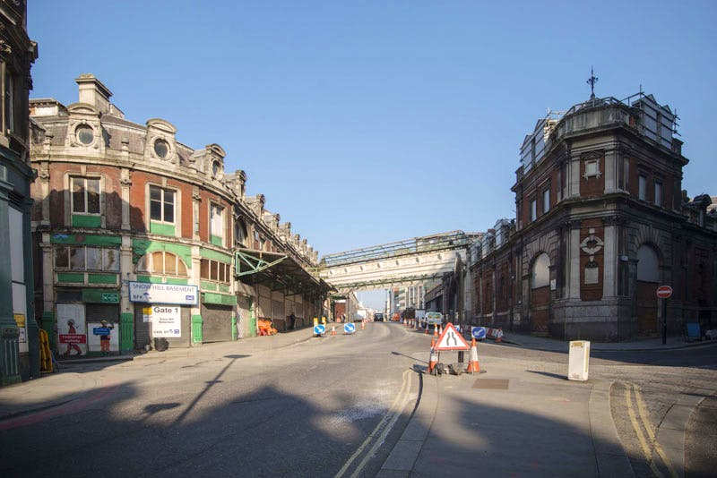 Smithfield General Market, the new site of the Museum of London.