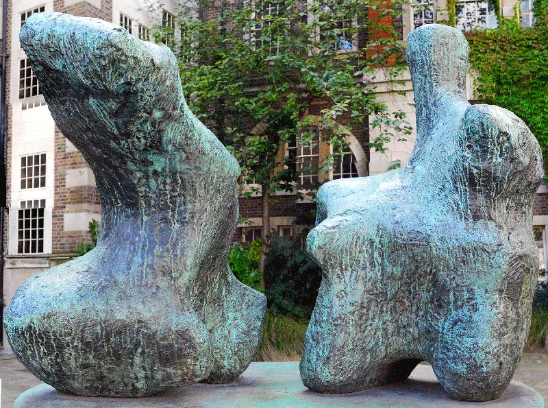 Two Piece Reclining Figure No. 1