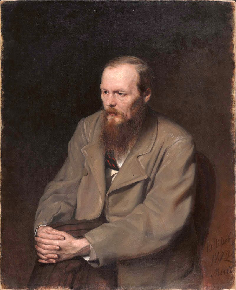 Fedor Dostoevsky (1872), Vasily Perov. State Tretyakov Gallery, Moscow