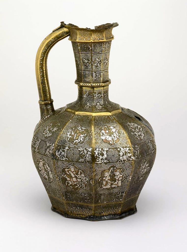 The Blacas Ewer (629 AD), Shuja' b. Man'a al-Mawsili. Jazira, Mosul