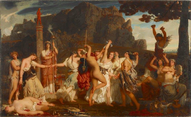 La Danse des Bacchantes
