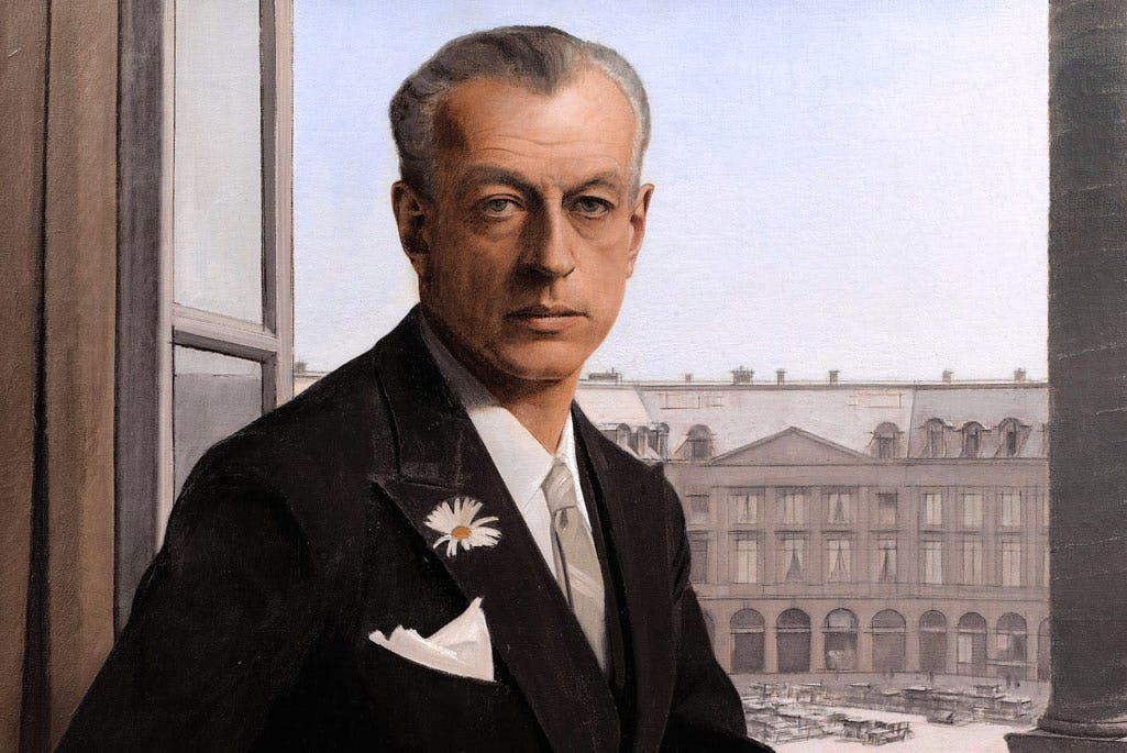 Autoportrait, place Vendôme resized (detail; 1932), Bernard Boutet. Courtesy Sotheby's