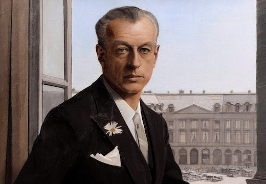 Autoportrait, place Vendôme resized (detail; 1932), Bernard Boutet. Courtesy Sotheby's