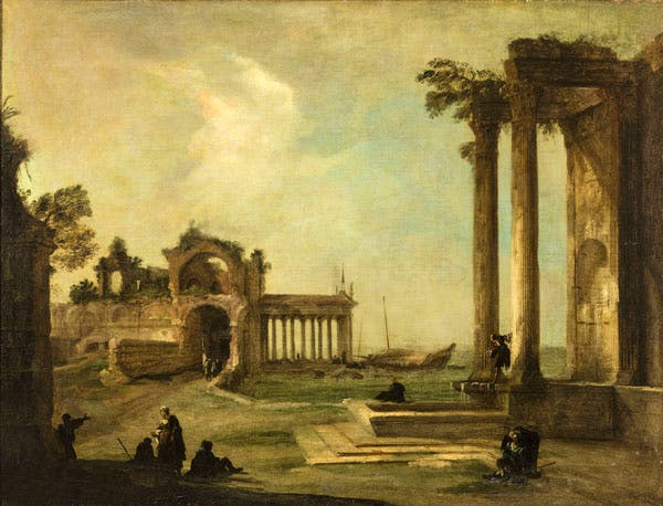 (c. 1722), Canaletto