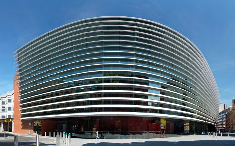 Curve Leicester, designed by Rafael Vinoly