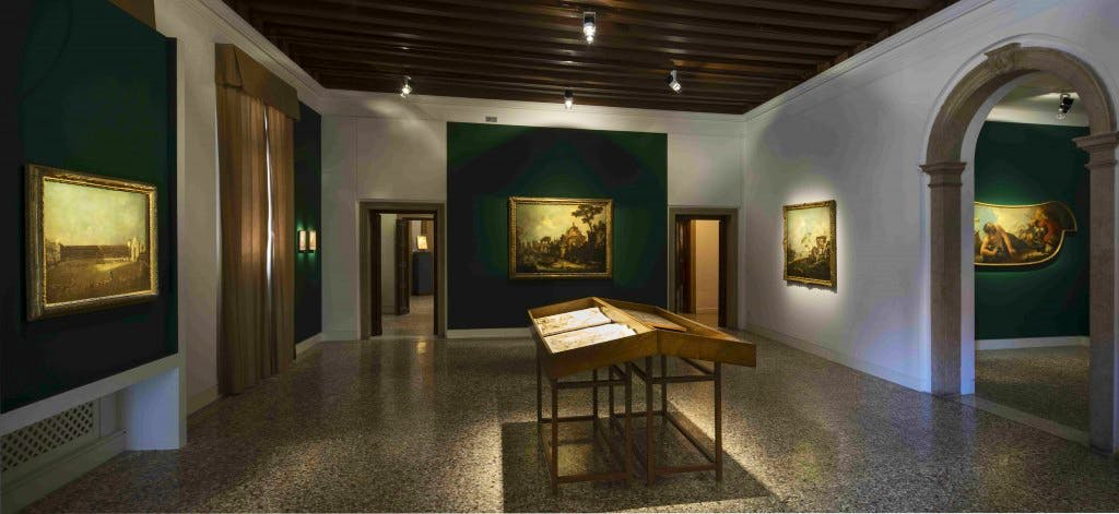 Installation view of 'Rediscovered Masterpieces from the Vittorio Cini Collection' at Palazzo Cini, Venice