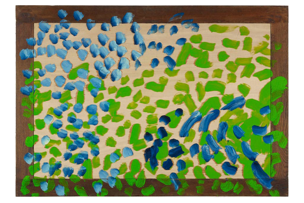 Love Song (2015), Howard Hodgkin.