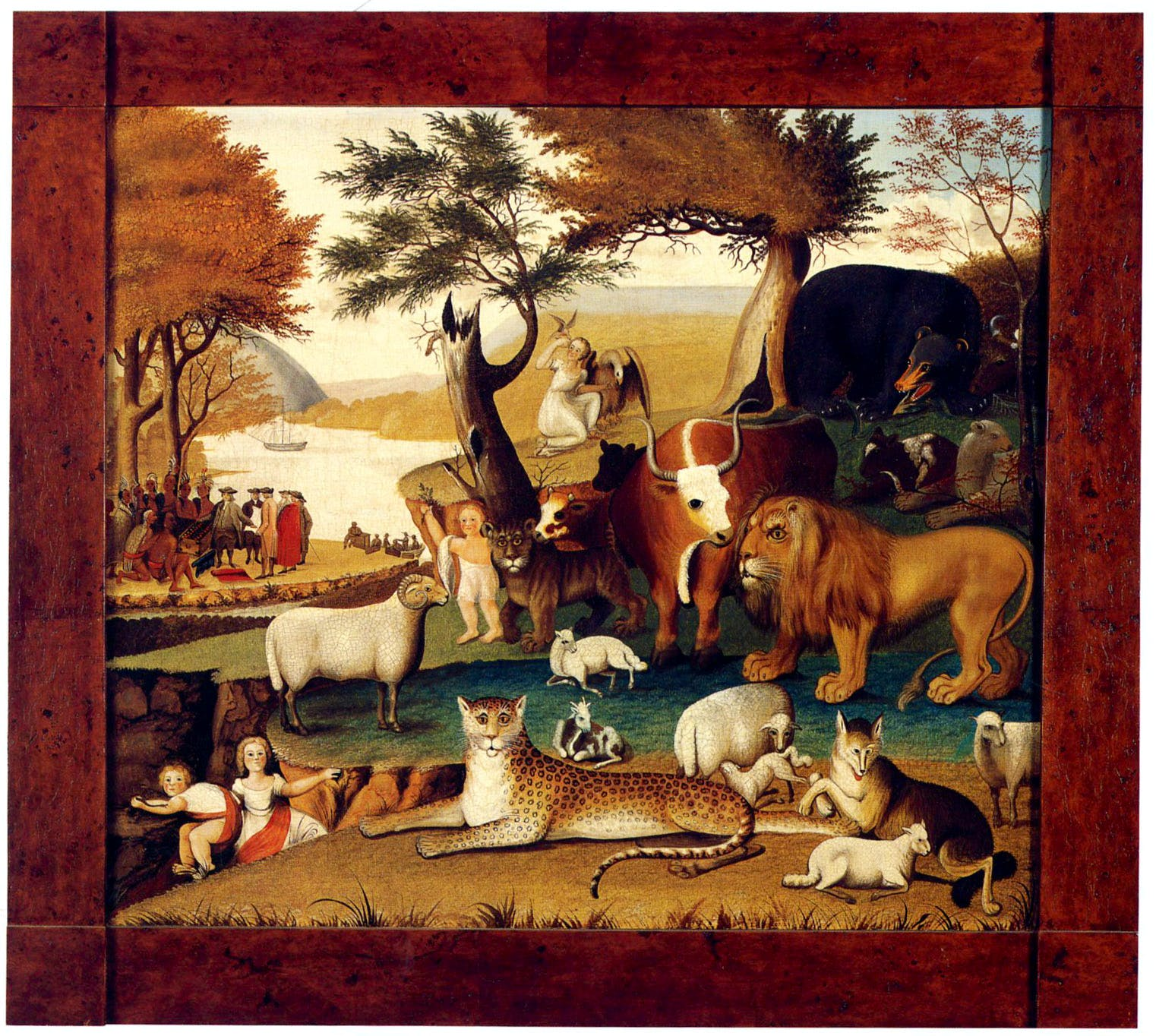 The Peaceable Kingdom with the Leopard of Serenity