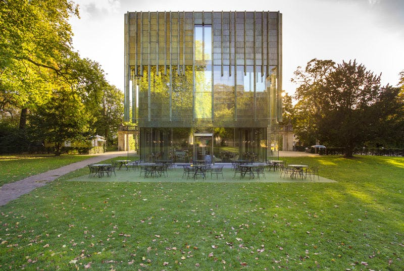 The Holburne Museum extension, designed by Eric Parry and opened in 2011.