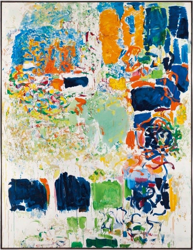 Noon, (1969–70), Joan Mitchell.