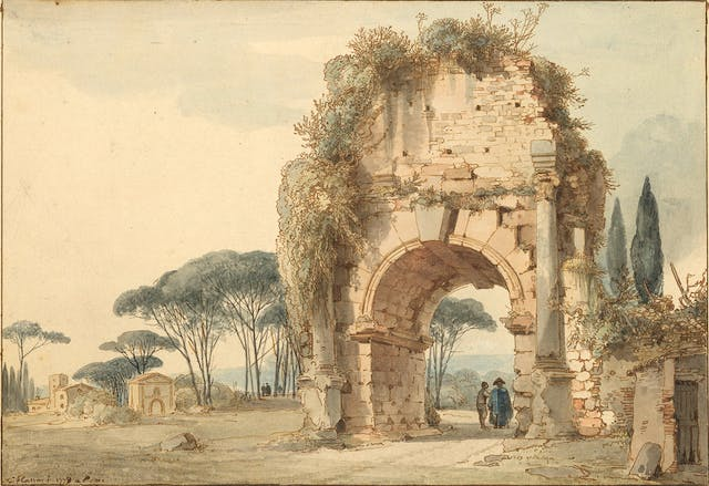 Landscape with Arch of Drusus