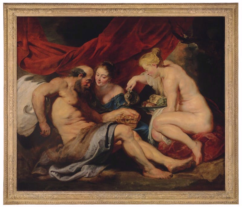 Lot and his Daughters (1613–14), Peter Paul Rubens