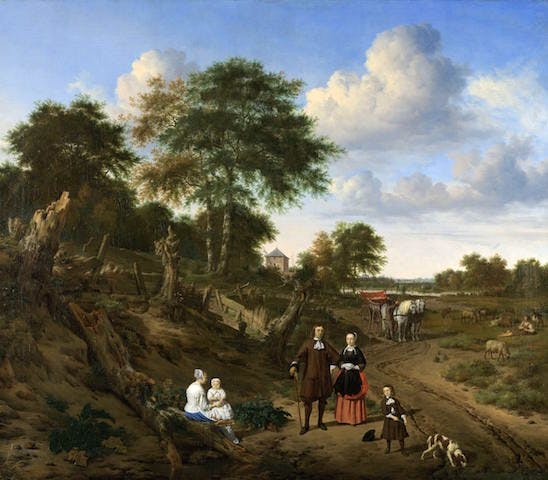 Couple in a Landscape