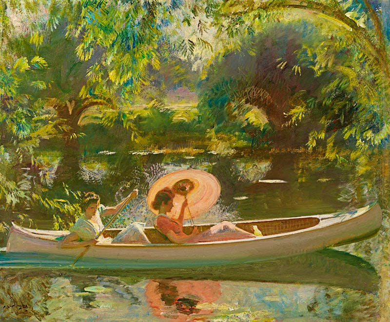 September Afternoon (c. 1939), Alfred Munnings. Richard Green Gallery at London Art Week