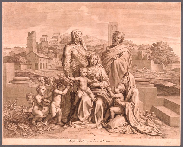 Ego Mater pulchrae dilectionis (Holy Family with Ten Figures)