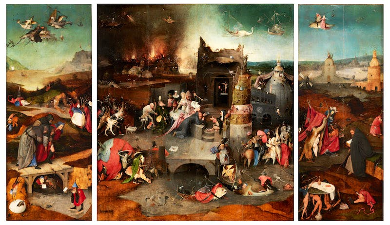 Triptych of the Temptation of Saint Anthony