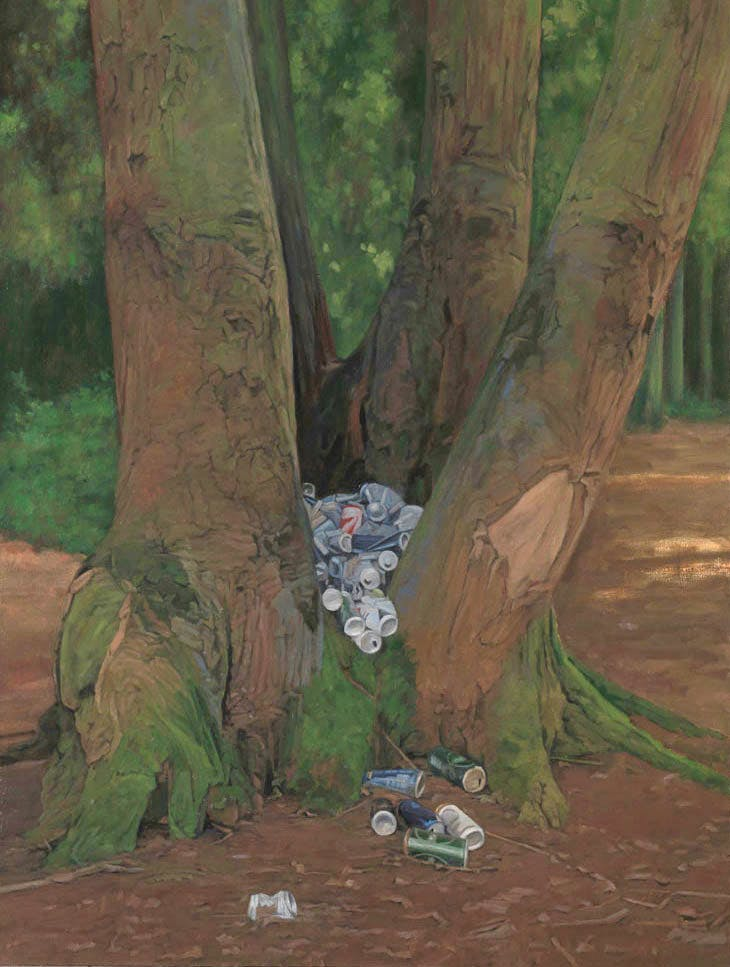 The Tree of Whatever (2015–16), George Shaw