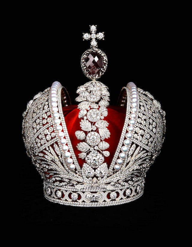 Model of Catherine's Great imperial Crown, Smolensk, 2012