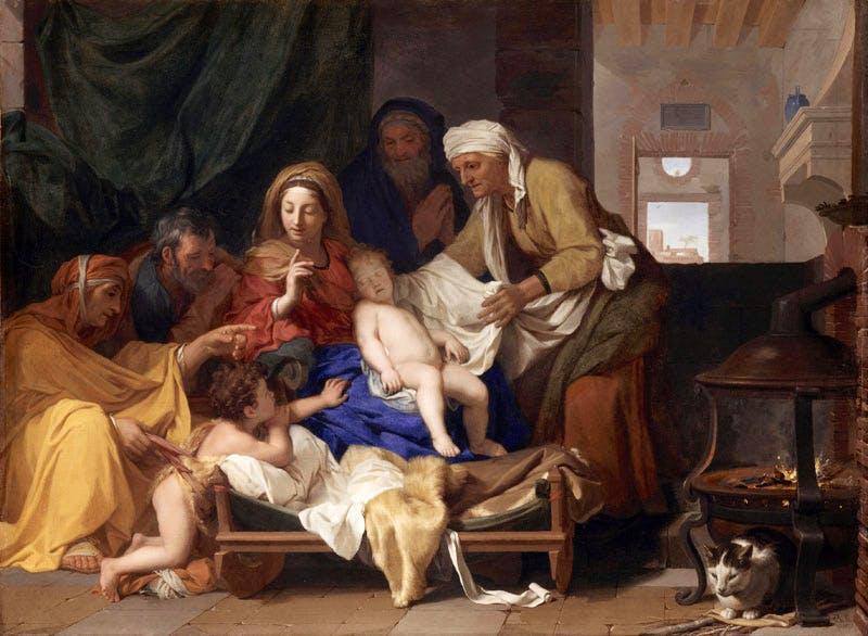 The Sleep of Infant Jesus (1655), Charles Le Brun. Musée du Louvre, Paris