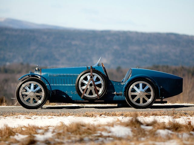 The Bugatti T35, designed by Ettore Bugatti (1881–1947) and produced from 1924–30