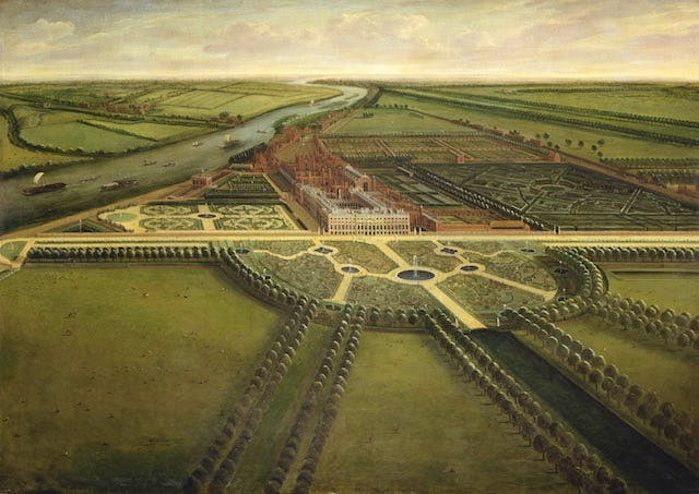 A View of Hampton Court