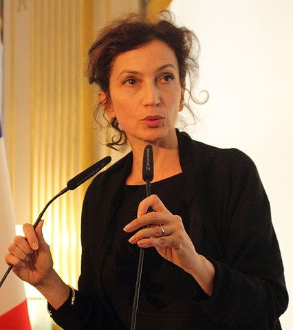 Audrey Azoulay in 2016.