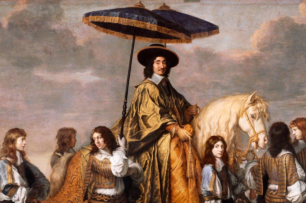 Equestrian Portrait of Chancellor Séguier (c.1660–61), Charles Le Brun