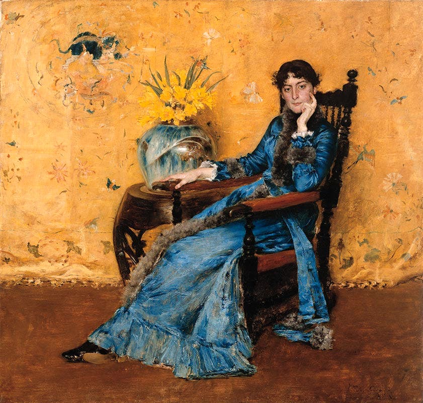 Portrait of Dora Wheeler (1882–83), William Merritt Chase.