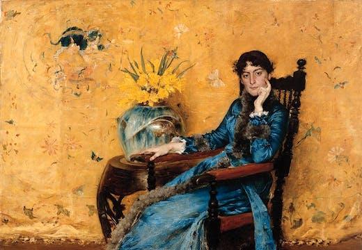 Portrait of Dora Wheeler (1882–83), William Merritt Chase.