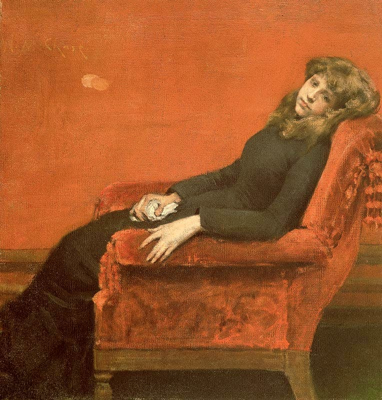 The Young Orphan (c. 1884), William Merritt Chase