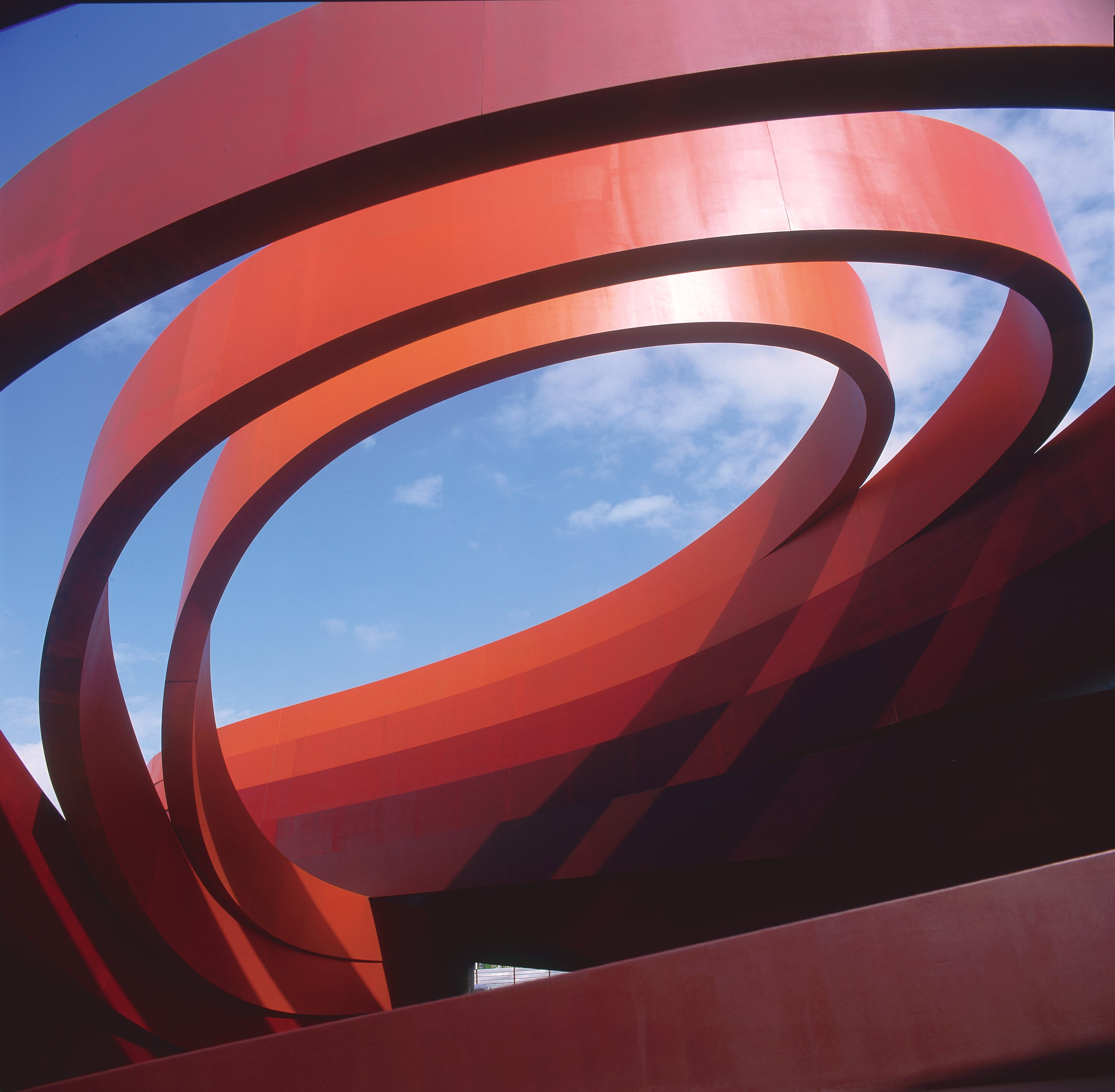 Design Museum Holon, designed by Ron Arad and completed in 2010