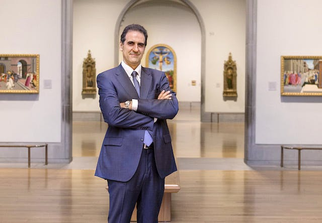 Dr Gabriele Finaldi, Director of the National Gallery, London © The National Gallery, London
