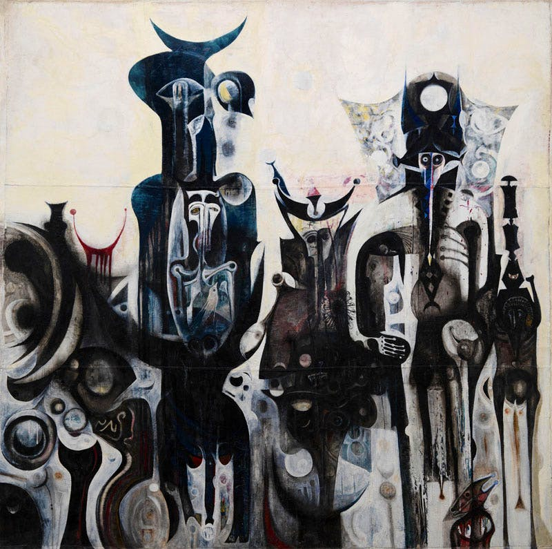 Reborn Sounds of Childhood Dreams 1 (1961–65), Ibrahim El-Salahi