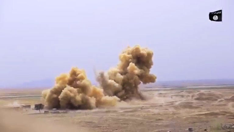 Footage released by ISIS this week appears to show the destruction of the Temple of Nabu in Iraq.